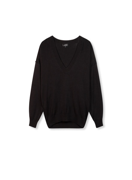 ALIX The Label Alix Cotton v-neck pullover