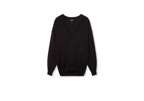 ALIX The Label Alix Cotton v-neck pullover