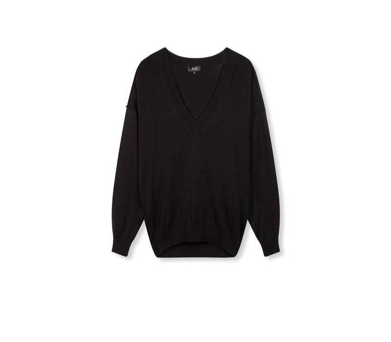 Alix Cotton v-neck pullover 201839454