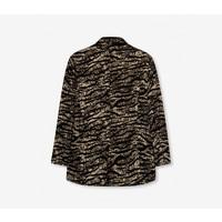 Alix woven animal flow blazer 201467497