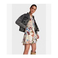 Alix Short flower chiffon skirt