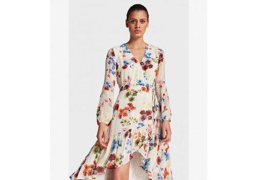 ALIX The Label Alix Flower chiffon dress