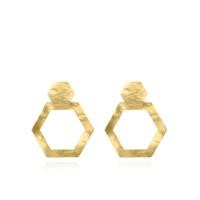 Lott classic  hexagonale open M oorbellen