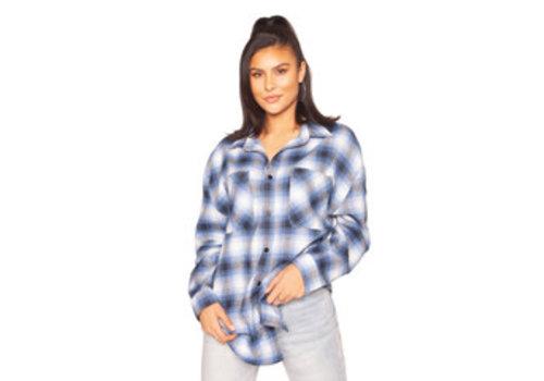 La Sisters La Sisters Oversized check shirt