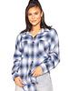La Sisters La Sisters Oversized checked blouse