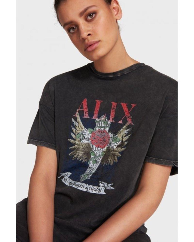 ALIX The Label Alix Cross long t-shirt 201836461