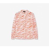 Alix the label  ladies woven zebra blouse