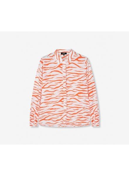 ALIX The Label Alix the label  ladies woven zebra blouse
