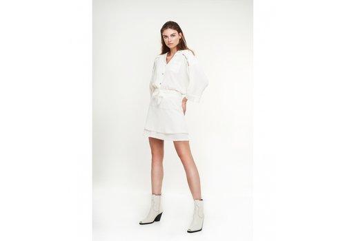 ALIX The Label Alix crinkle mini skirt
