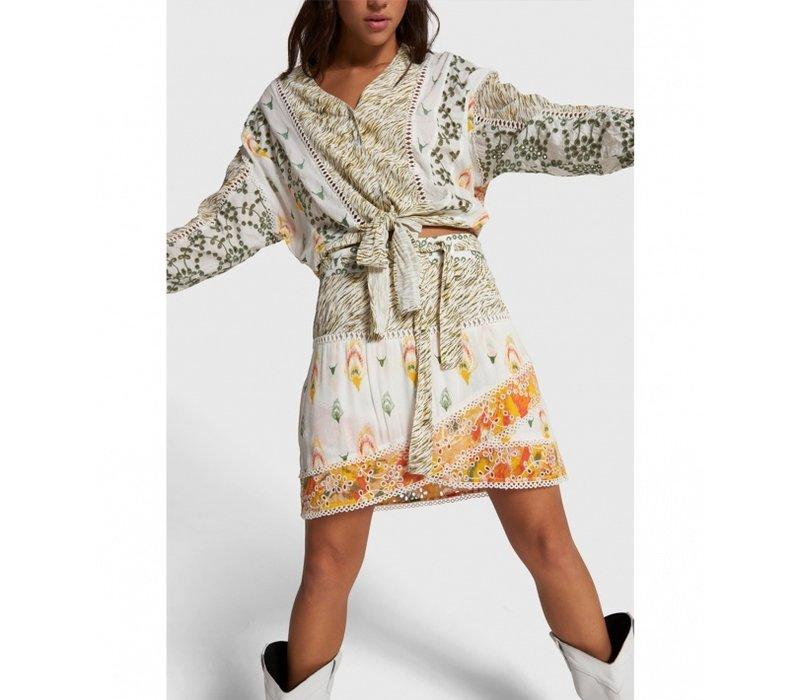 Alix fancy mix skirt