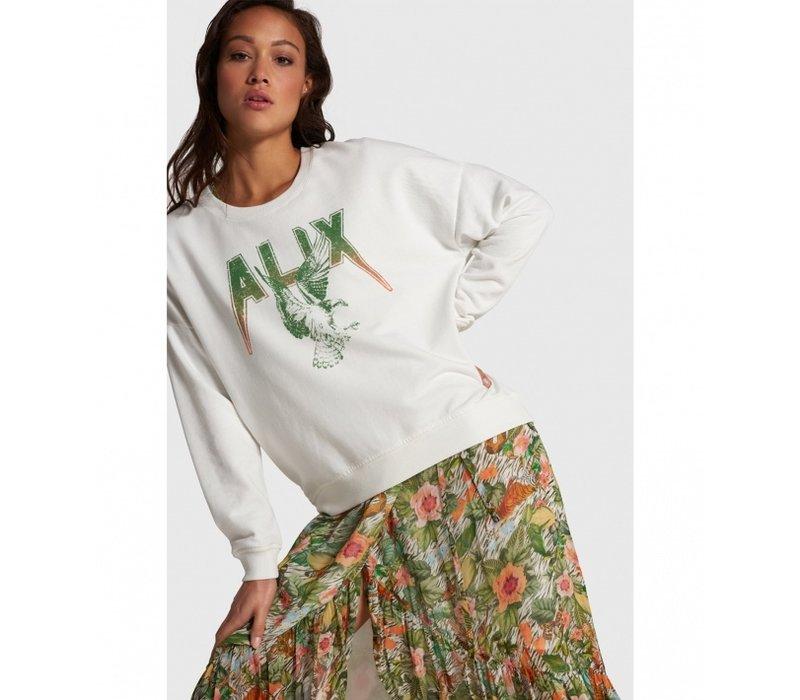 Alix Garment dyed boxy Alix sweater