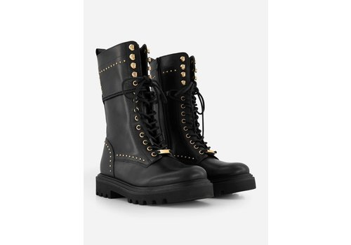 NIKKIE Selected by Kate Moss Kate Moss Gold stud boots N9-158