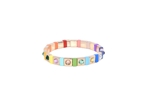 Juli Dans Jewels Juli Dans Gabriella Rainbow Gemstone Bracelet