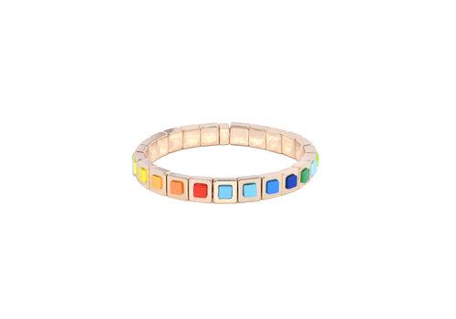 Juli Dans Jewels Juli dans Gabrielle Rainbow Bracelet Square