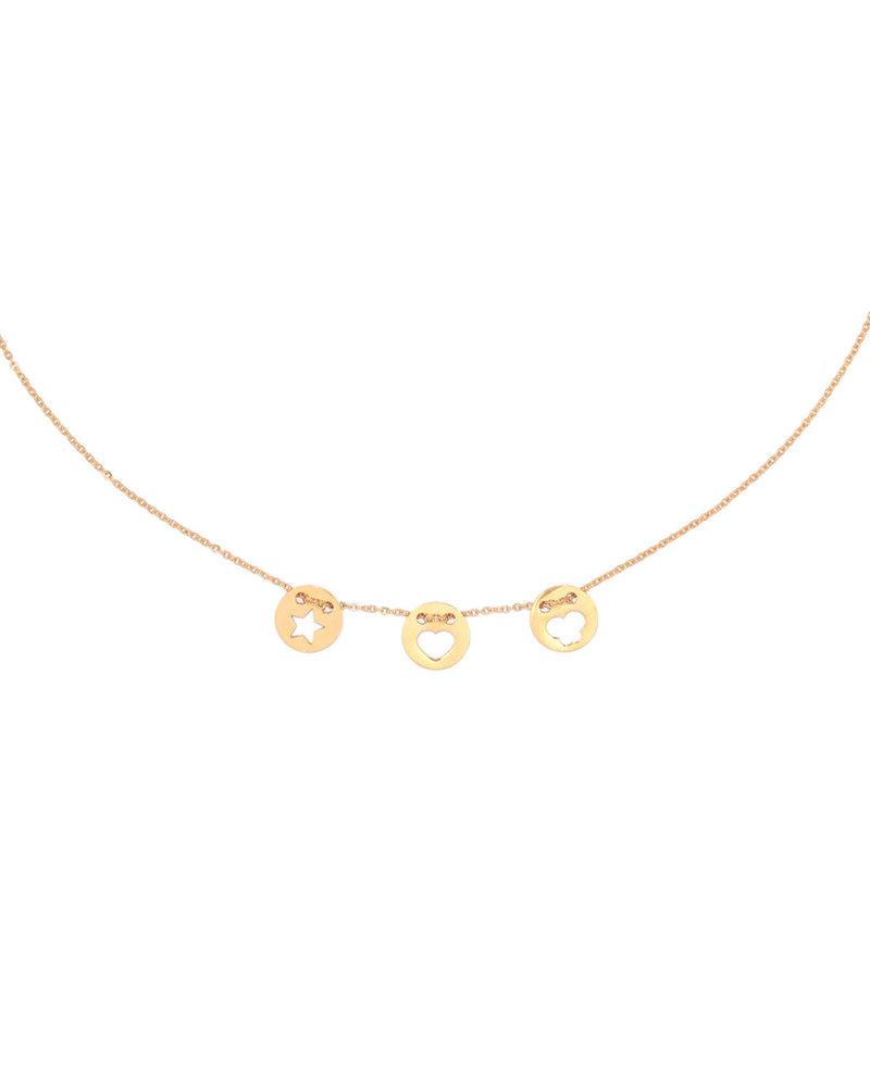 Juli Dans Jewels Juli Dans I Love You Coin Necklace