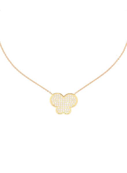 Juli Dans Jewels Juli Dans I Love You Butterfly Necklace