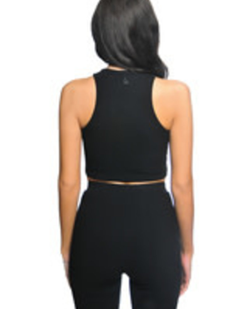 La Sisters La Sisters Ribbed Cycling Two Piece