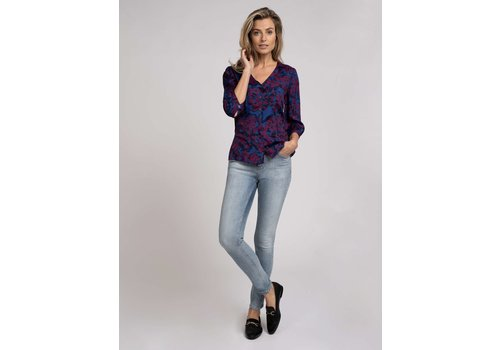 Fifth House Fifth house FH-853 Salem short sleeves blouse