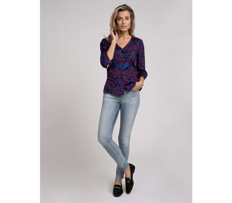Fifth house FH-853 Salem short sleeves blouse