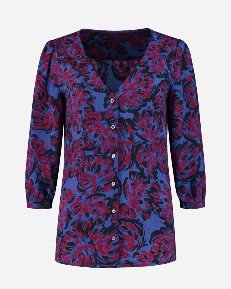 Fifth house FH-853 Salem short sleeves blouse