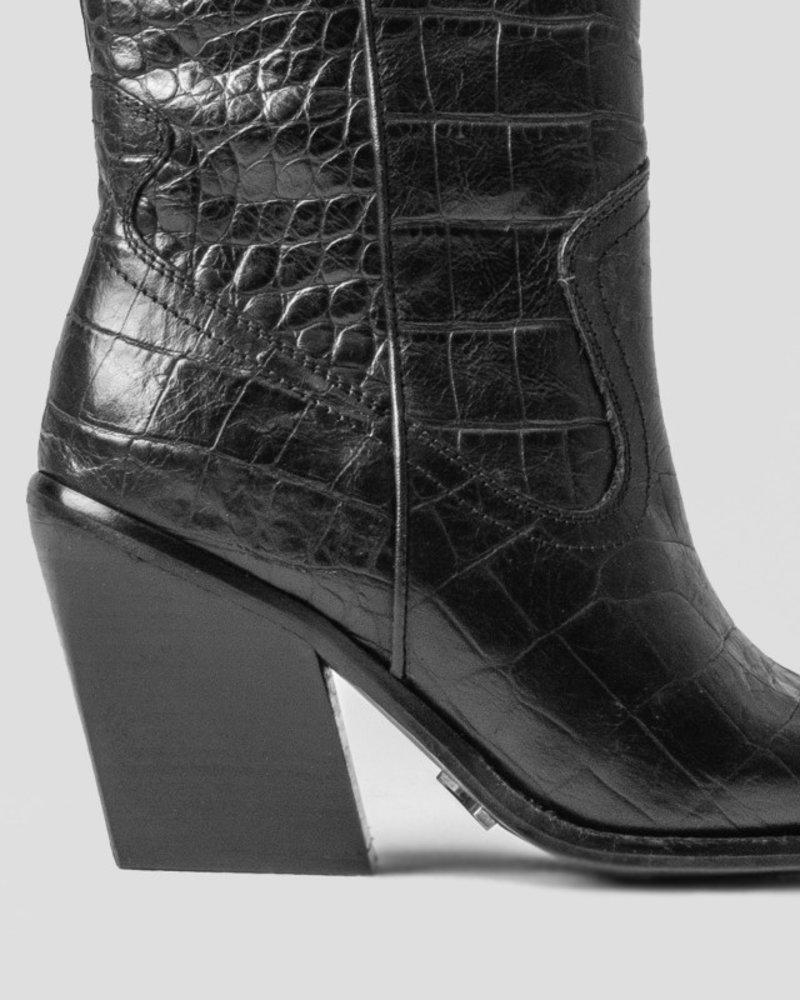 Bronx Bronx Embossed Croc boots