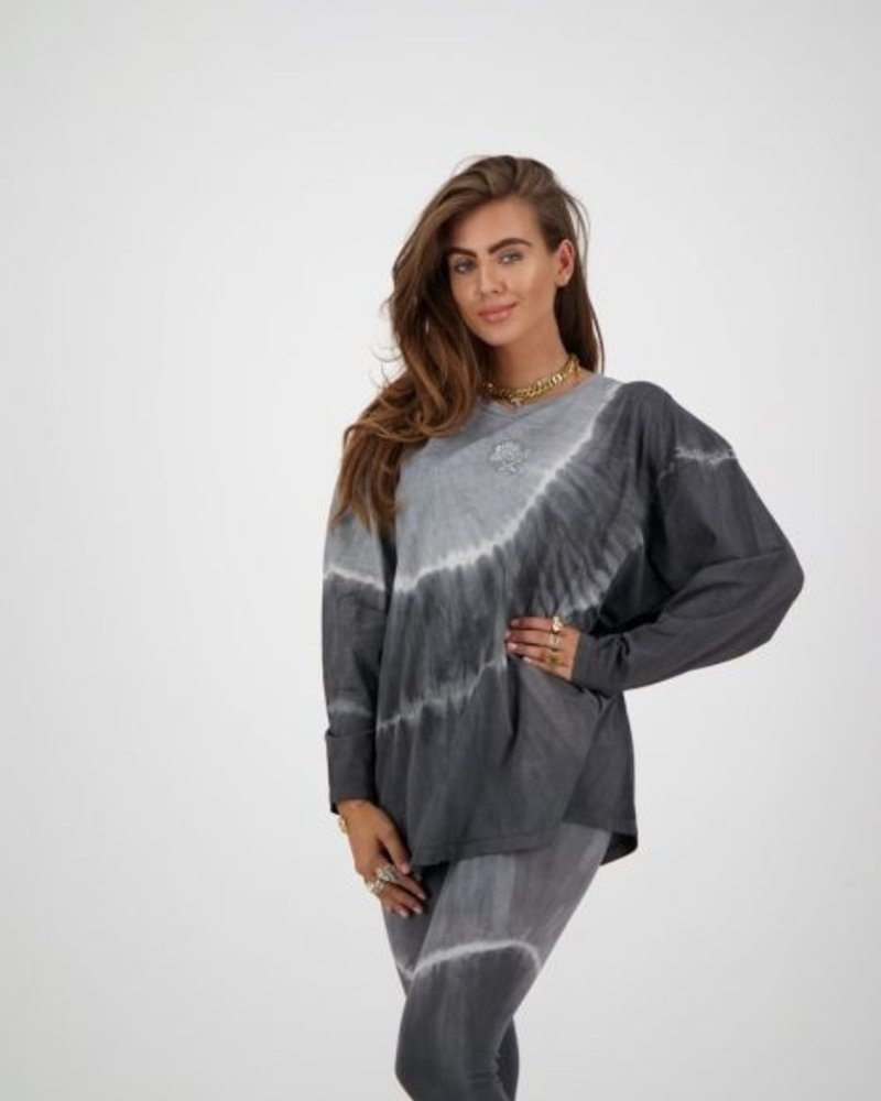 REINDERS Reinders T-shirt Tie Dye long W2054T
