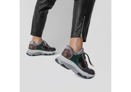Bronx Bronx low shoe Leat suede
