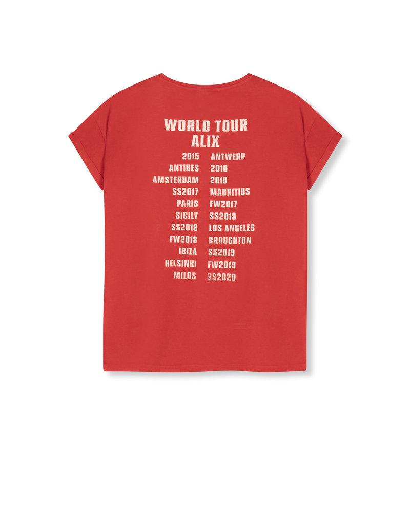ALIX The Label Alix the label On tour t-shirt