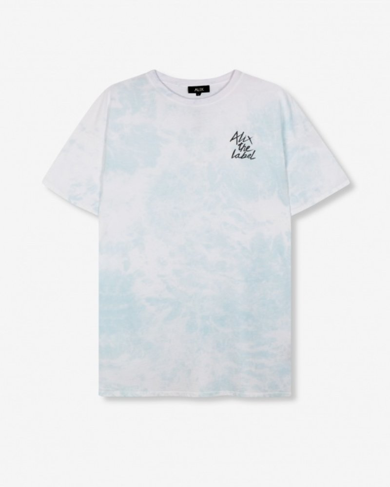 ALIX The Label Alix Tie dye long t-shirt