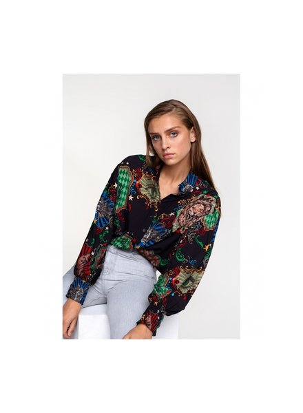 ALIX The Label Alix the label big circus blouse