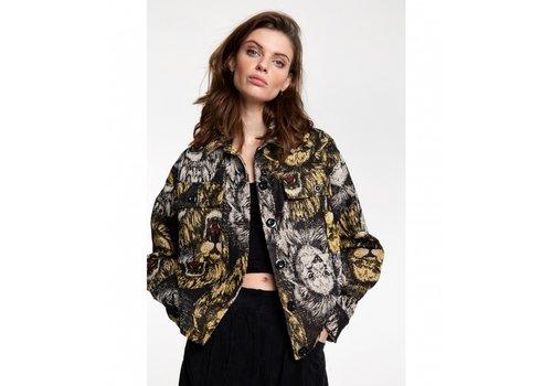 ALIX The Label Alix Lion jacquard jacket 205431667