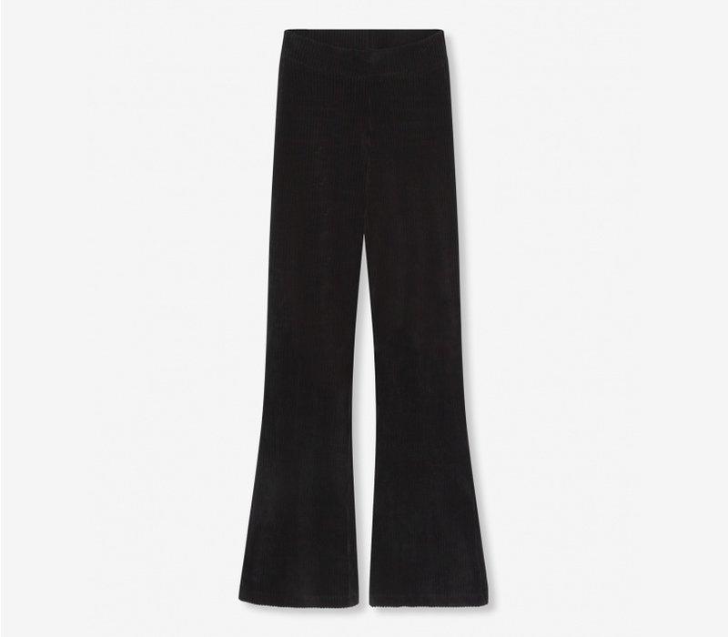 Alix velvet flaired pants 205135311
