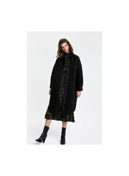 ALIX The Label Alix the label embroidered wool jacket