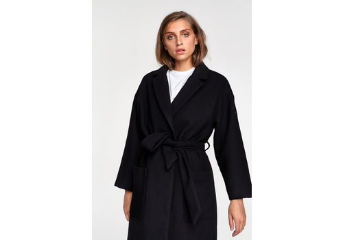 ALIX The Label Alix  the label Woven wool coat