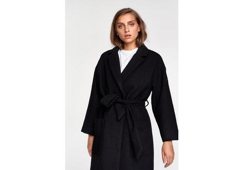 ALIX The Label Alix Woven wool coat 205529661