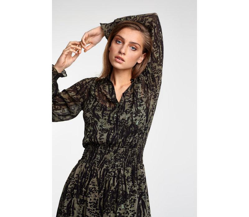 Alix Animal maxi dress 205349725