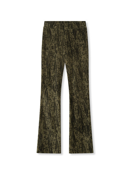 ALIX The Label Alix the label Animal rib flared pants