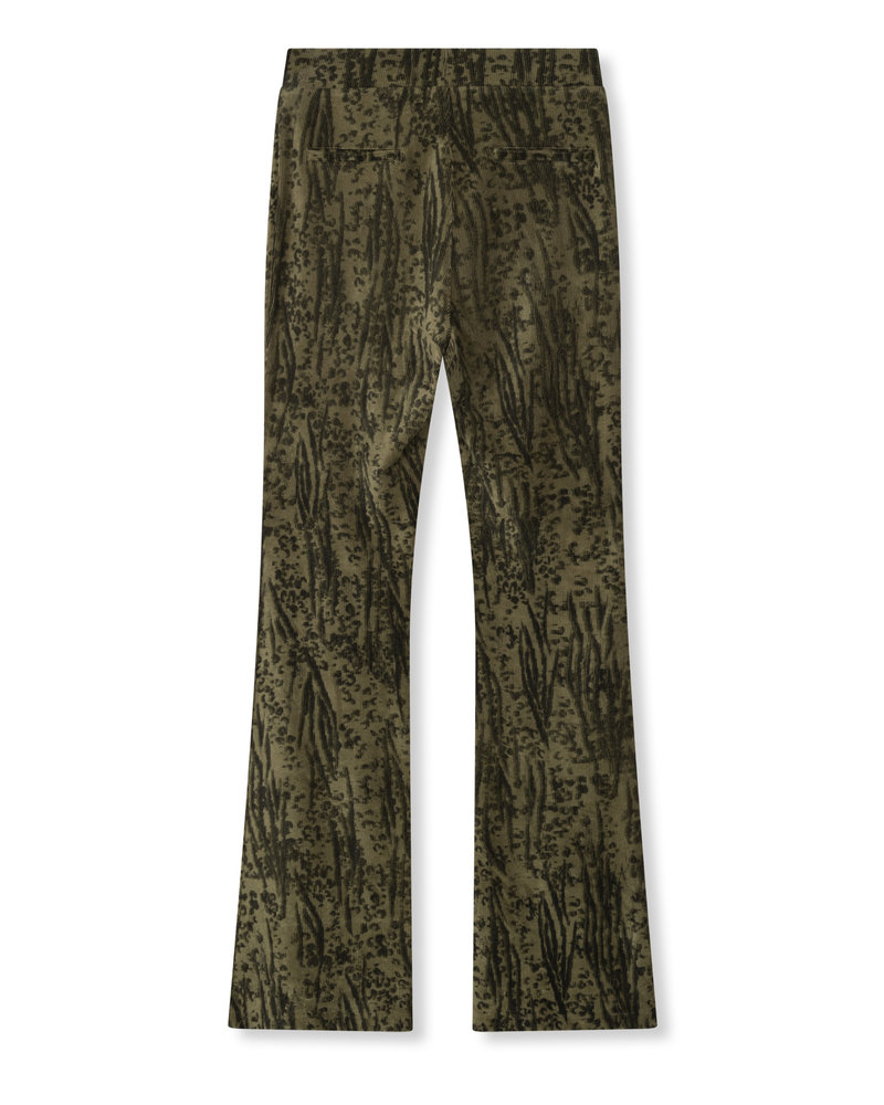 ALIX The Label Alix the label Animal rib flared pants 205154679