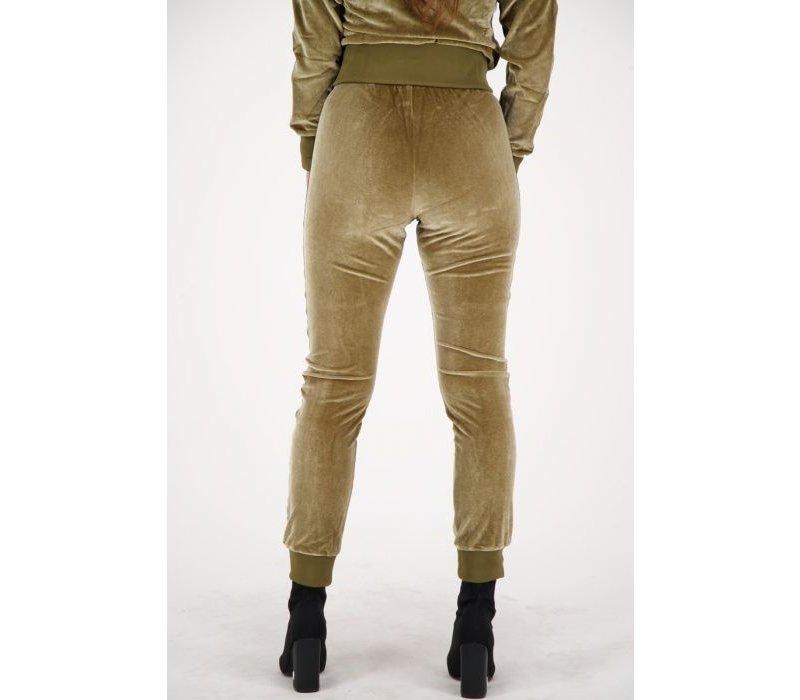 Reinders tracking pants velvet w601A