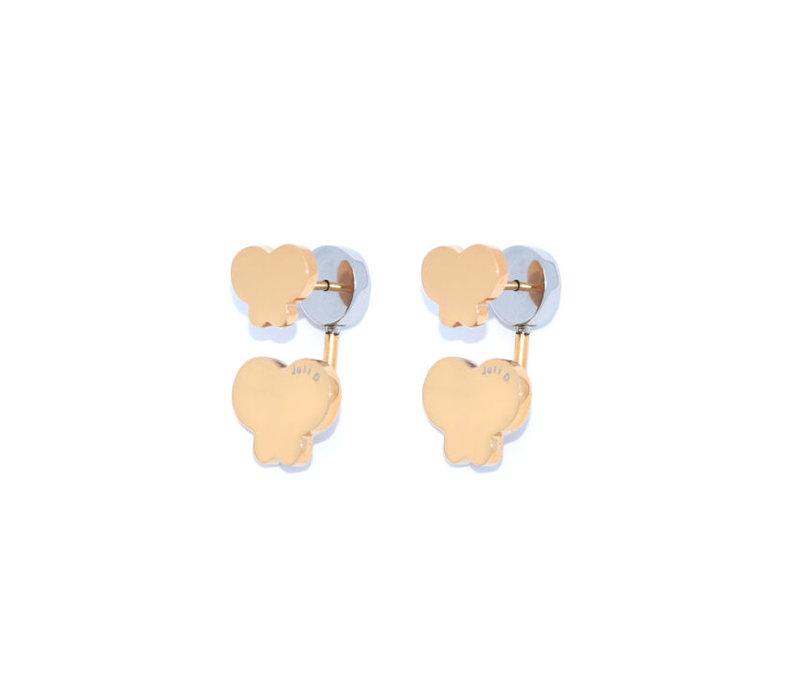 Mini-me double butterfly Earrings