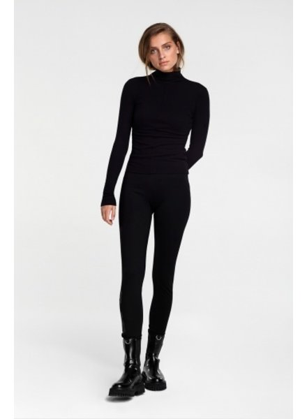 ALIX The Label Alix the label fitted turtle neck top