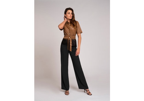 Fifth House Fifth House Momo belted blouse