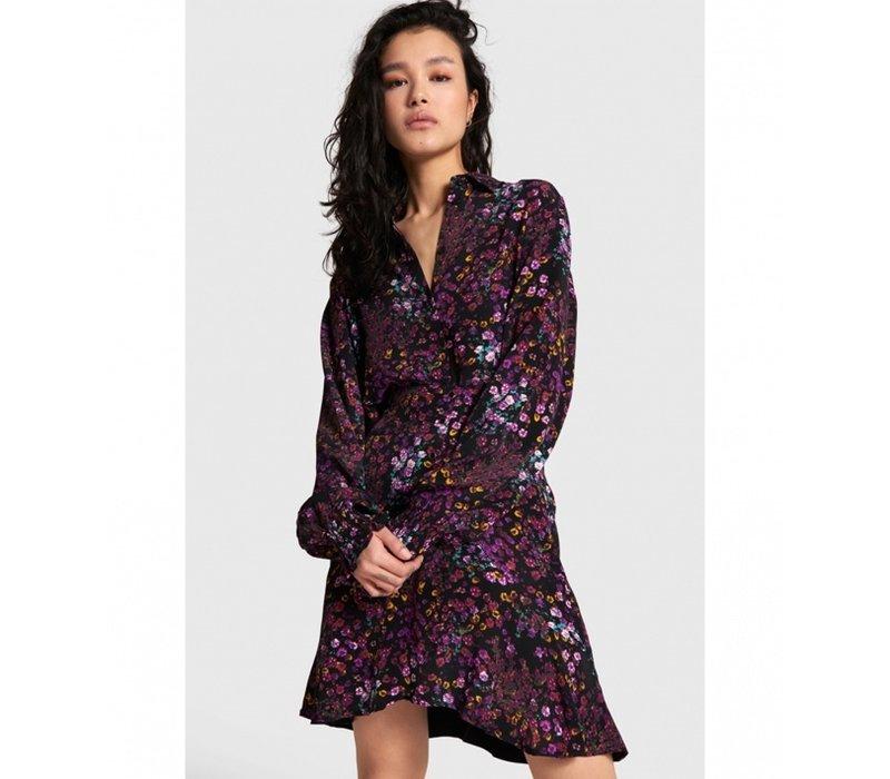 Alix the label ditsy flower short skirt 207226799