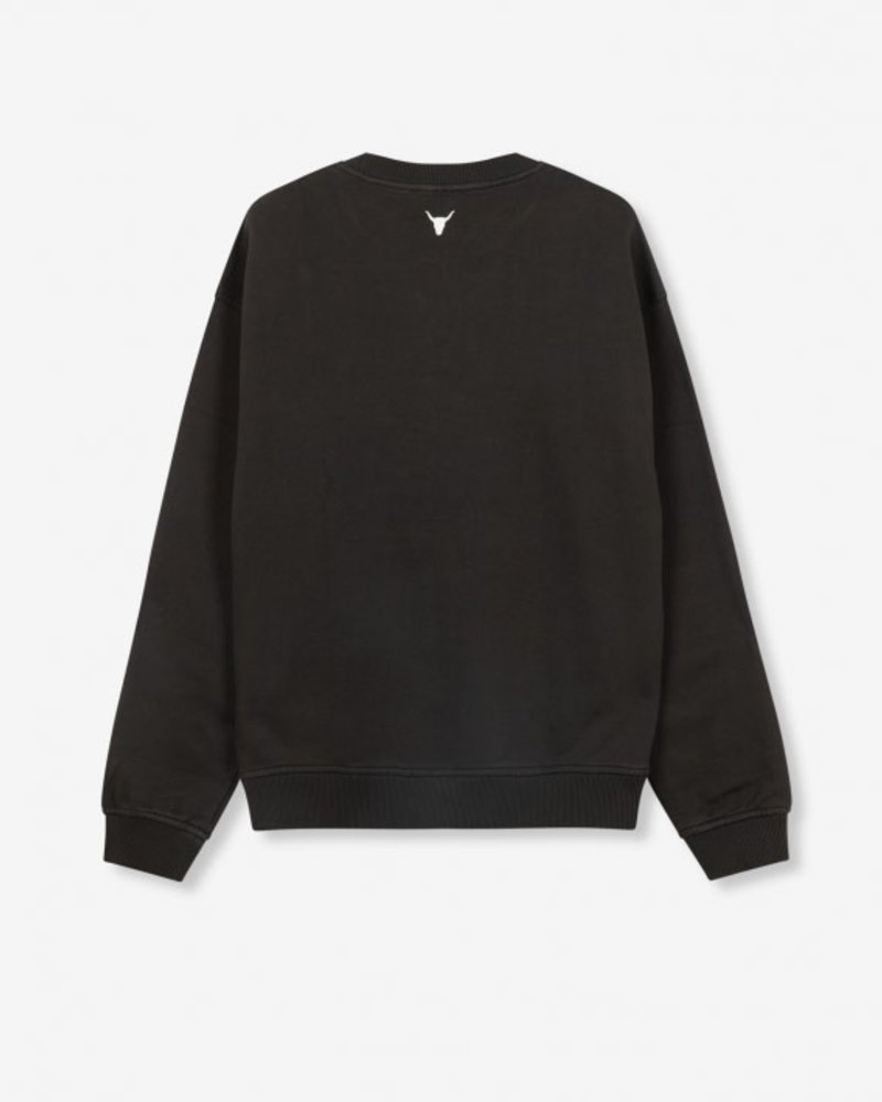 ALIX The Label Alix the label knitted wolves sweater 207893797