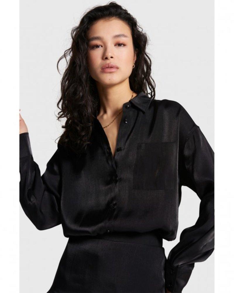 ALIX The Label Alix the label  subtle shine blouse 207907805