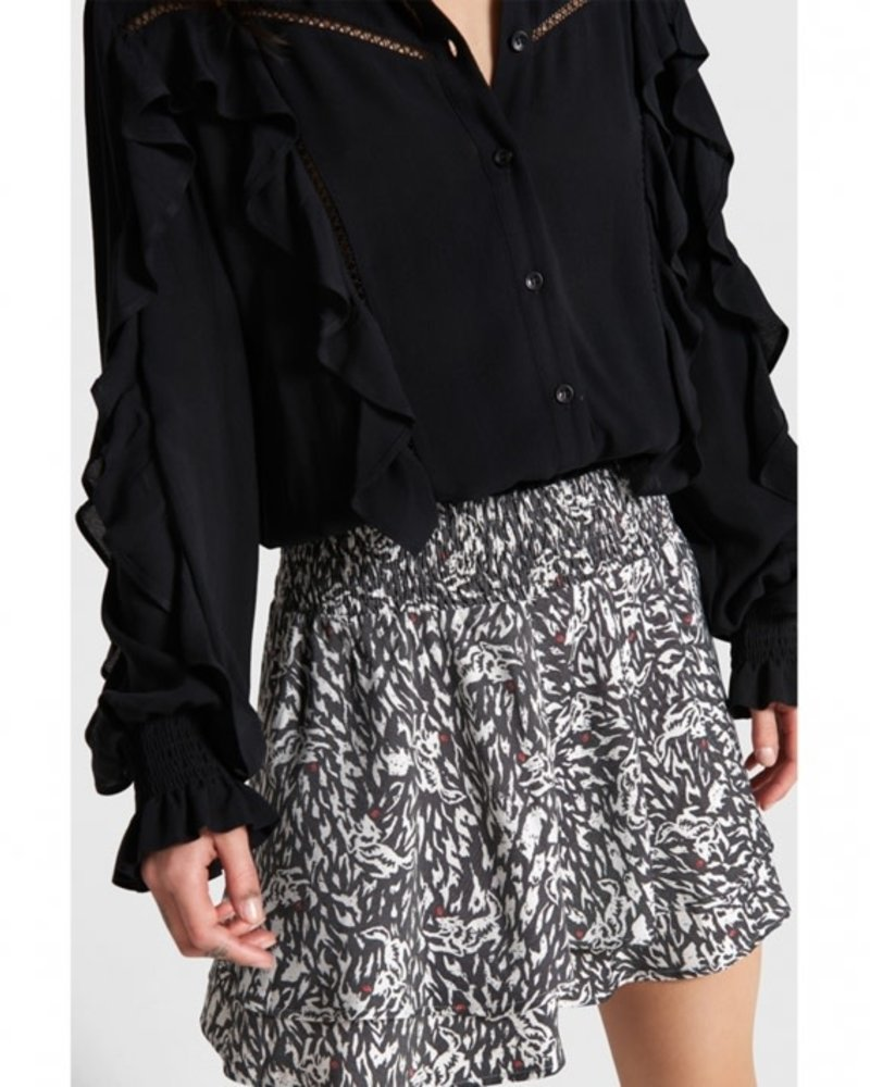ALIX The Label Alix the label blouse with tapes and ruffles 207960811