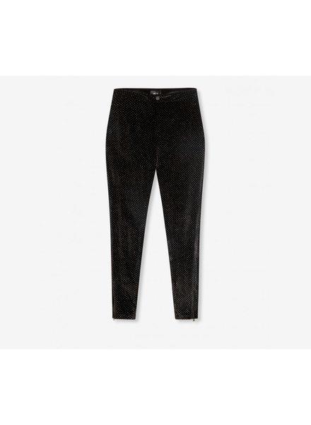 ALIX The Label Alix  glitter dot velvet skinny pants
