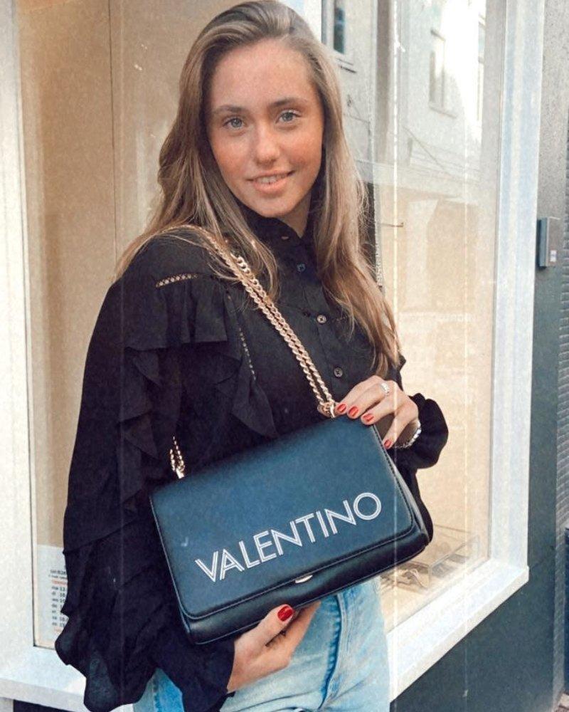 Valentino Valentino Jemaa satchel nero