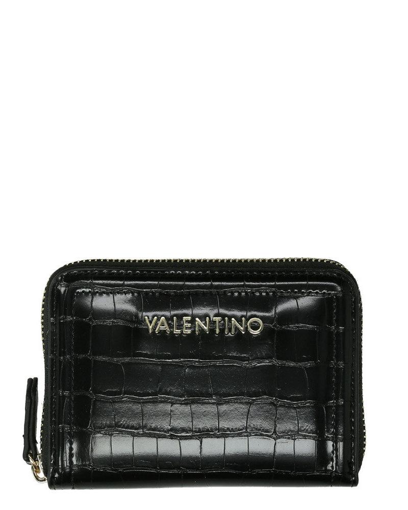 Valentino valentino grote zip around wallet nero VPS4K2139