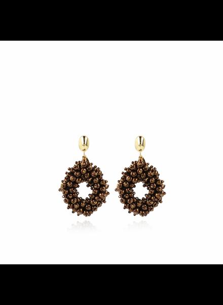 LOTT. GIOIELLI Lott Gioielli Holly double stones glasberry